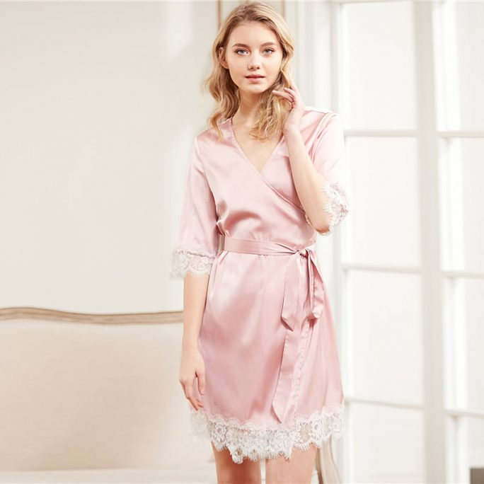 Cute Silky Nightwear