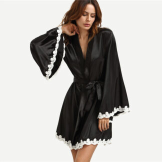 Flare Elegant Night Robe