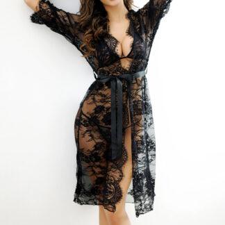 Indulging See-through Nightgown