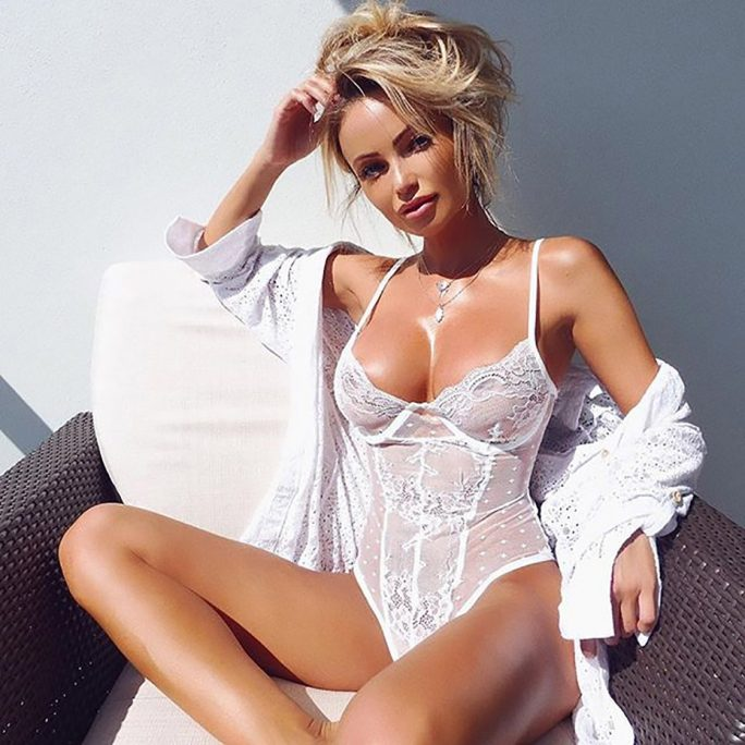 Lucy Sexy Laced Bodysuit