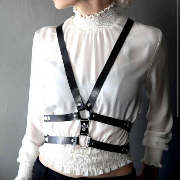 Sexy Harness for Crop Tops