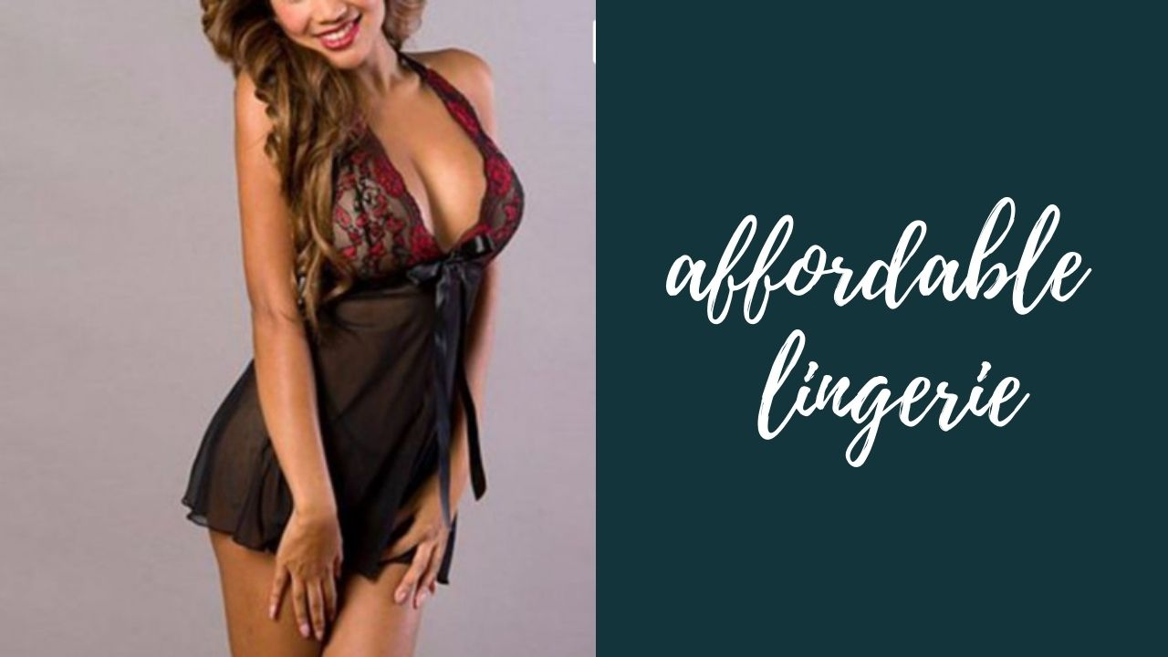 Best Cheap Lingerie You Must Buy to Turn Your Guy On